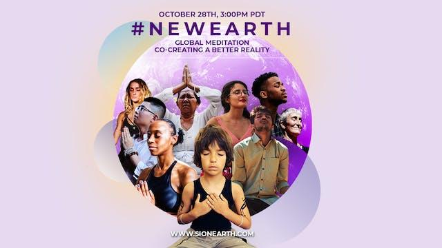 #NEWEARTH Global Meditation: Co-Creat...