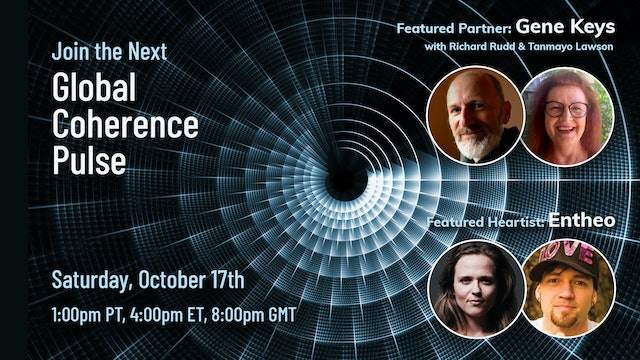 Global Coherence Pulse - Heart-Centered Meditation Event (Oct. 17, 2020)