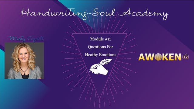 Handwriting Soul Academy - Video 11