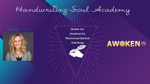 Handwriting Soul Academy - Video 12