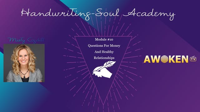 Handwriting Soul Academy - Video 10