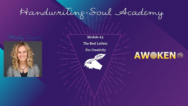 Handwriting Soul Academy - Video 5
