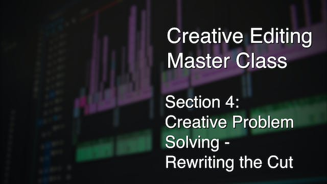 Section 4: Creative Problem Solving - Rewriting the Cut