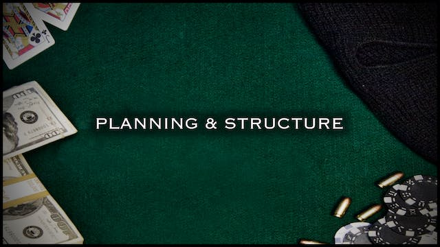 Concept & Screenplay: Planning & Structure