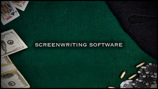 Concept & Screenplay: Screenwriting Software