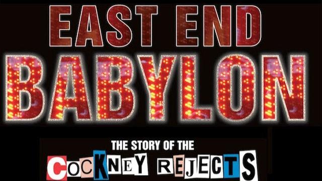 Cockney Rejects - East End Babylon