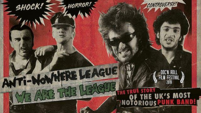 Anti-Nowhere League - We Are The League