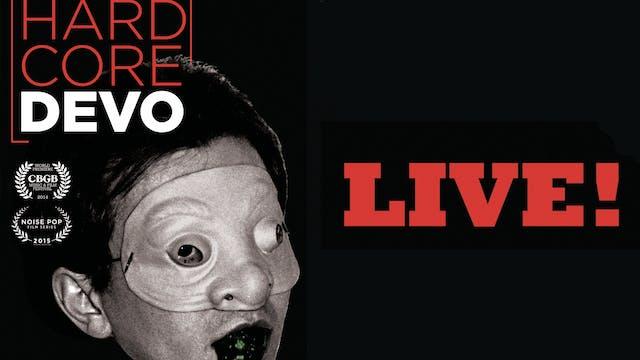 Devo - Hardcore Devo Live! - film