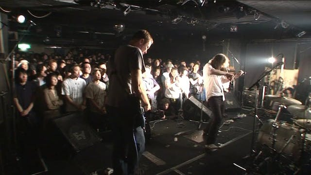 The Dirty Three live tokyo
