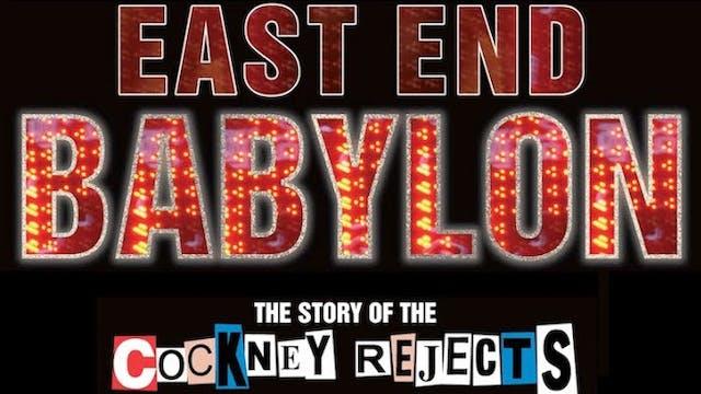 Cockney Rejects - East End Babylon - film