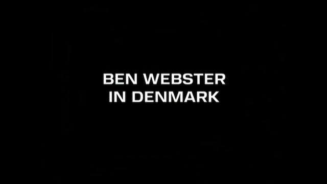 Ben Webster in Denmark 1965