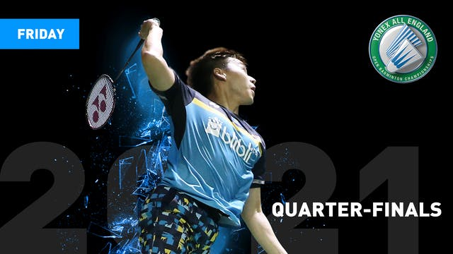 QUARTER-FINALS | Friday 20th March | YAE 2021
