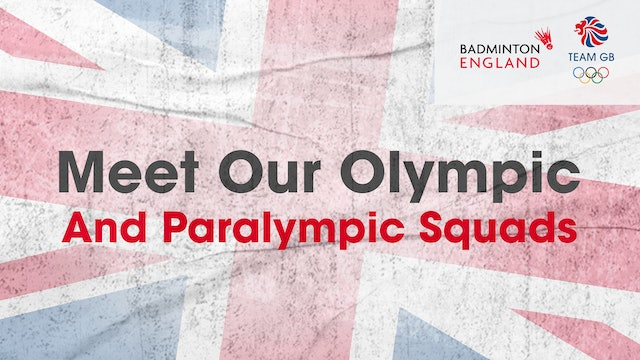 Meet our Olympic and Paralympic Squad