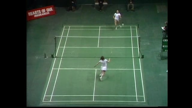 BADMINTON GOLD | AEC 1976 | Margaret ...