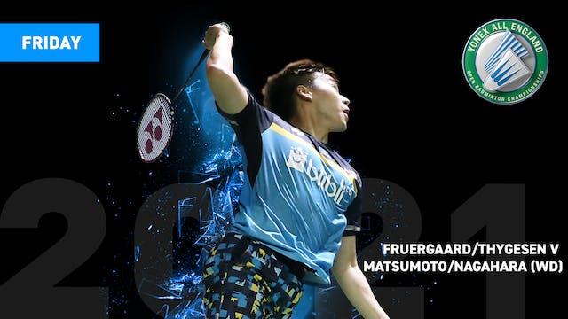 YAE2021   MATSUMOTO/NAGAHARA V FRUERGAARD/THYGESEN   WD QUARTER FINALS