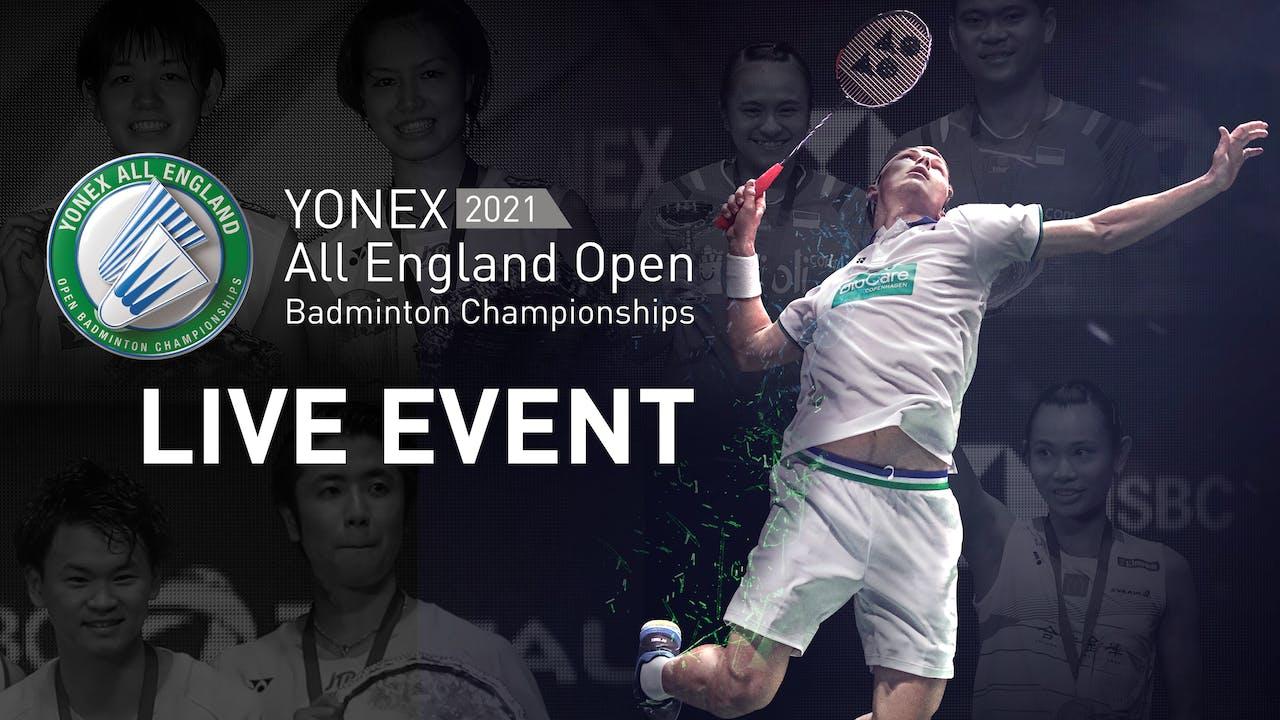 YONEX All England Open Badminton Championship 2021