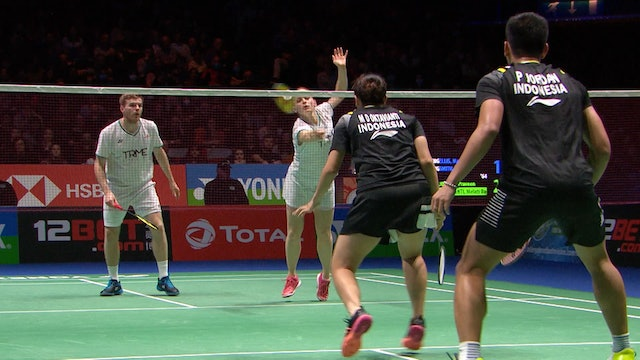 YAE 2020 | ELLIS/SMITH vs JORDAN/OKTAVIANTI | XD SEMI-FINAL