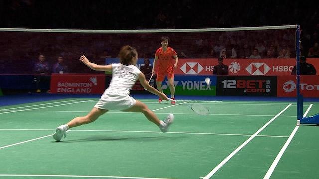 YAE 2020 | CHEN Yu Fei vs Nozomi OKUHARA | WS SEMI-FINAL