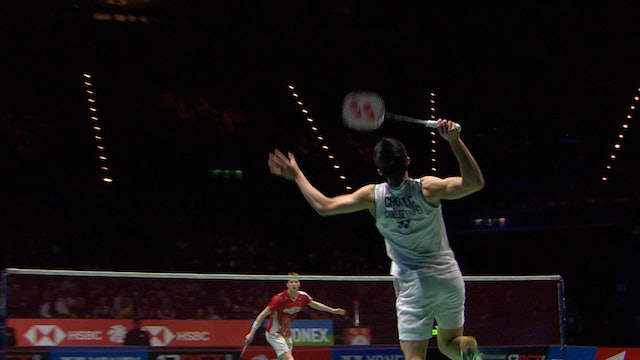 YAE 2020 | CHOU Tien Chen vs Anders ANTONSEN | MS SEMI-FINAL
