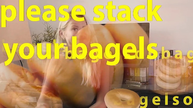 stack your bagels