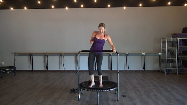 30 on 30 HIIT BOUNCE- 50 minutes