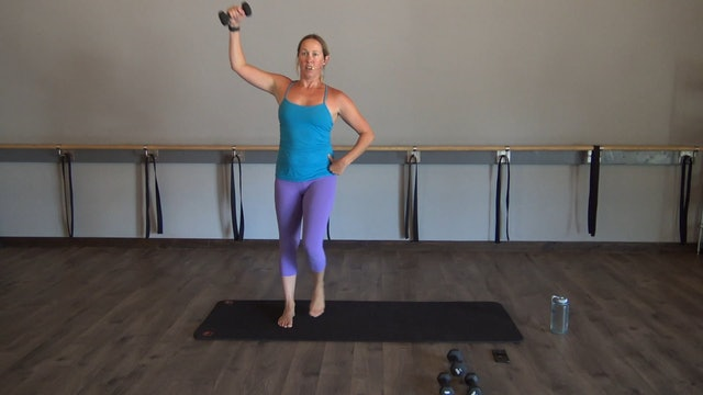 Arms + Abs-30 minutes