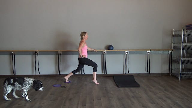 Barre-25 minutes (gliders)