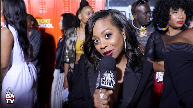 Bresha Webb Talks 'Night School,' Rum...