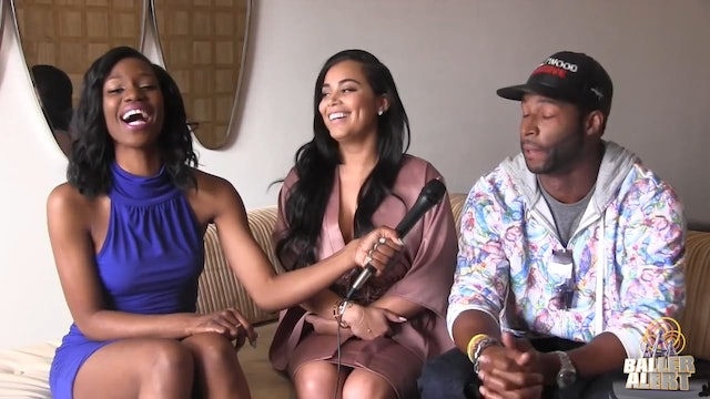 Talking w/  Lauren London & Rob Riley