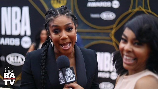 "Tiffany Haddish Talks ""Kids Say the Darndest Things & Her Top 5 NBA Players!"