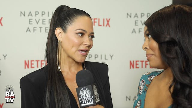 Camille Guaty Talks 'Nappily Ever Aft...