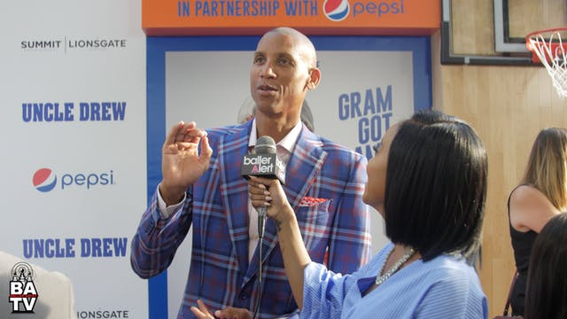 Reggie Miller Talks 'Uncle Drew' & Th...