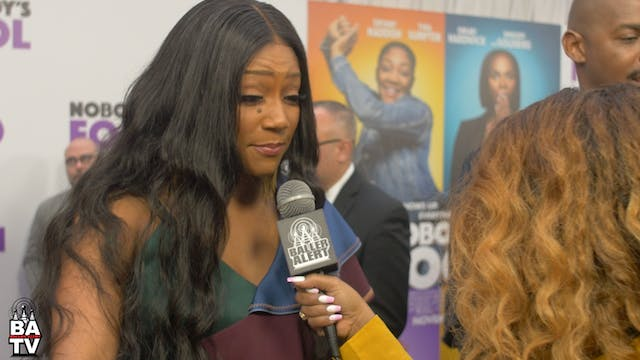 Tiffany Haddish Answers Questions For...