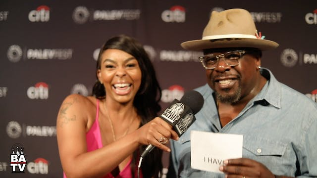 Cedric The Entertainer Talks Show 'Th...