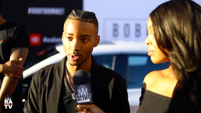 Algee Smith Talks 'The Bobby Brown St...
