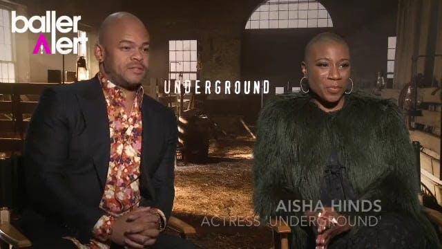 Baller Talk -  'Underground' Actress ...