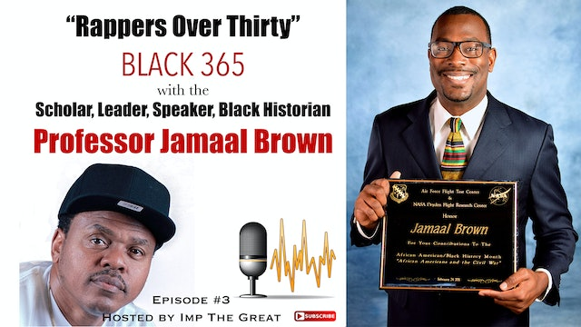 R.O.T. Podcast #3 with Professor Jamaal Brown