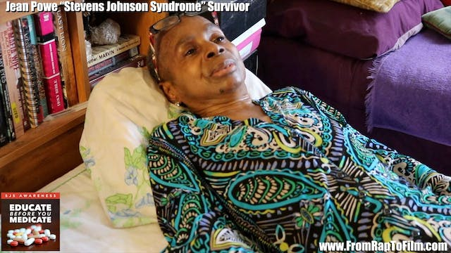 Jean Pows Steven Johnson Syndrome Survivor