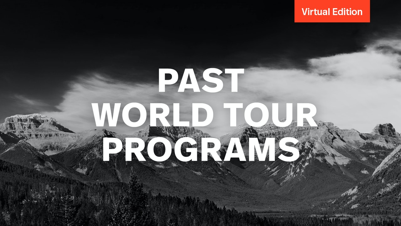 Past World Tour Programs