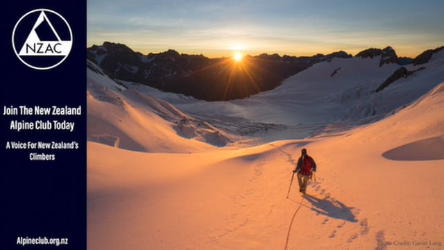 New Zealand Alpine Club - Intermission - Prize Draw