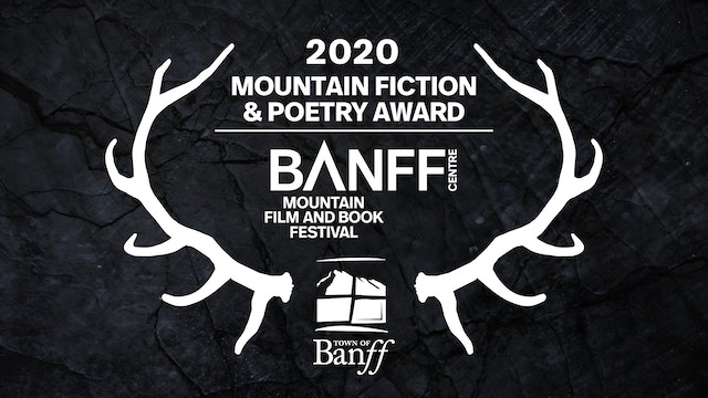 Banff Mountain Book Competition Mountain Fiction and Poetry Award Presentation