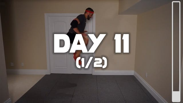 Day 11 (1/2): Fat Burning Workout