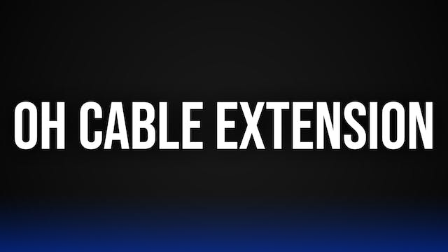 Overhead Cable Extensions