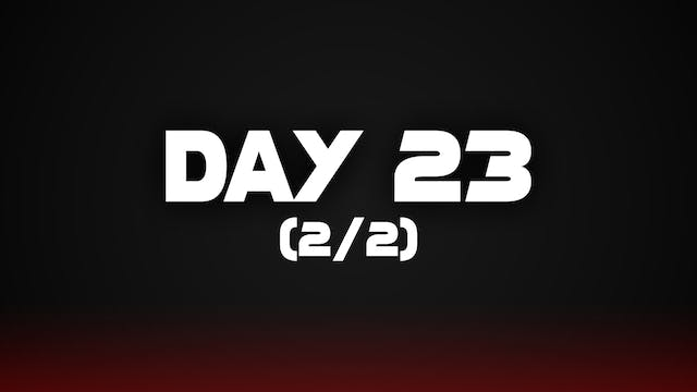 Day 23 (2/2)