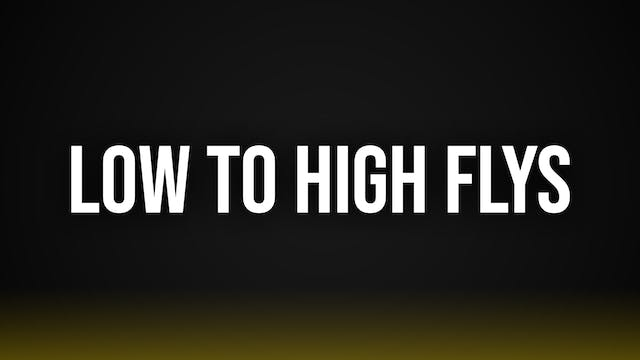 Low to High Cable Flys