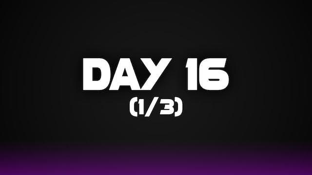 Day 16 (1/3)