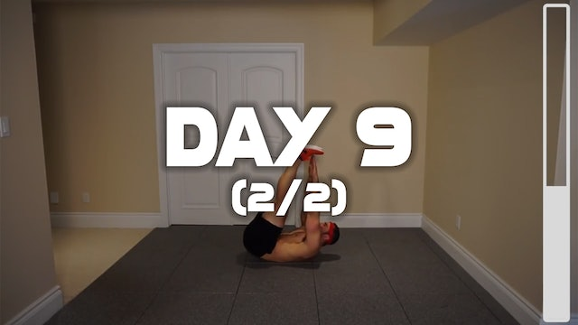 Day 9 (2/2): Lower Belly Fat Burning Six Pack Workout
