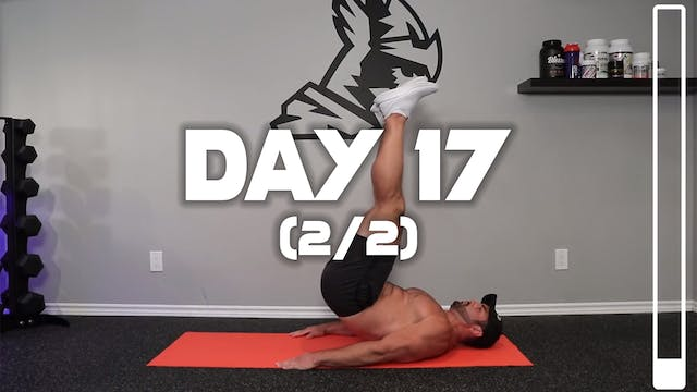 Day 17 (2/2): Lower Abs Workout