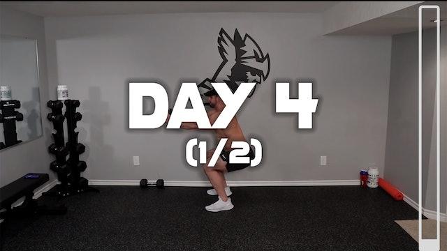 Day 4 (1/2): Leg Workout A