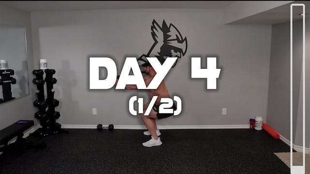 Day 4 (1/2): Leg Workout A